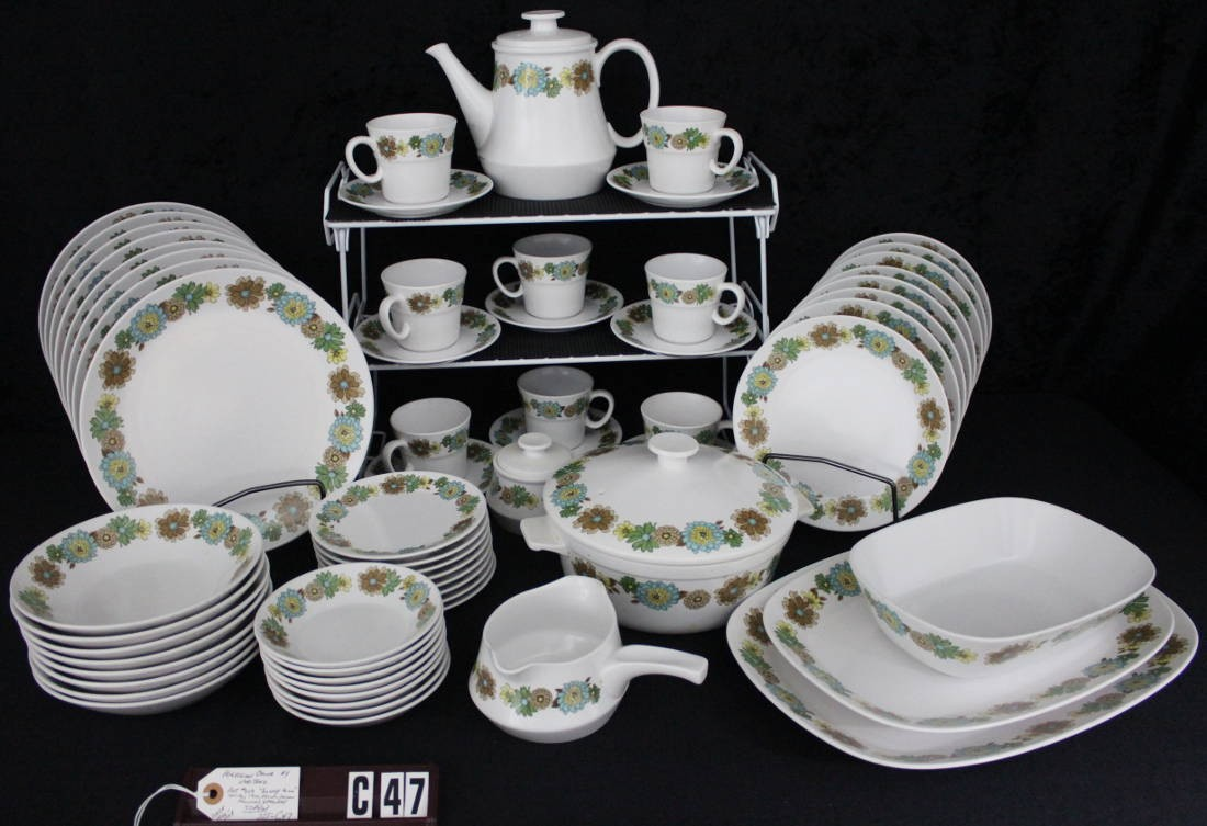 Noritake China Sunny Hill Pattern 903 Vintage Dinnerware Set C47 & Noritake China Sunny Hill Pattern 903 Vintage Dinnerware Set ...