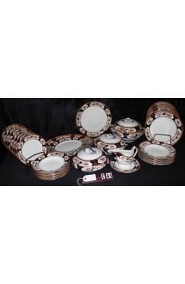 Losol Ware by Keeling China LTD Rosslyn Pattern Antique Dinnerware