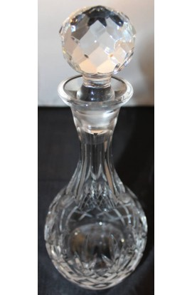Waterford Crystal Decanter with Stopper Pattern WAT66 Signed with Sea Horse