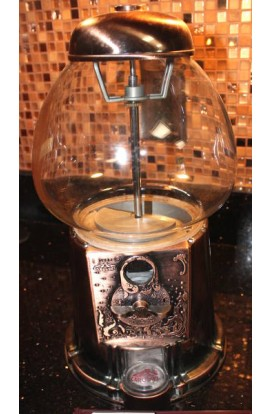 Carousel Vintage Copper King Carousel Gumball Machine Limited Edition 15 Inch