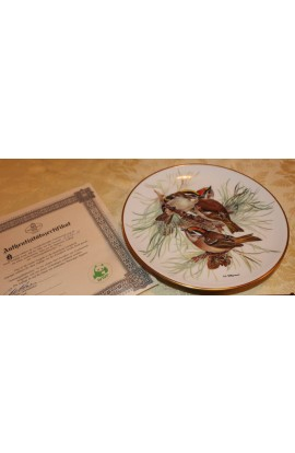 Tirschenreuth Porcelain The European Songbird Series by Ursula Band Collector Plate 2
