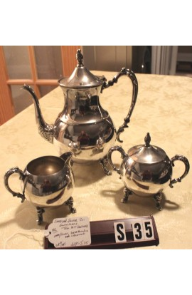 Sheridan Silver Company Silverplated Pattern 1285 Vintage Coffee or Tea Service
