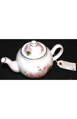 Mayfair Fine Bone China Staffordshire Chrysanthemum Pattern Antique Tea Pot