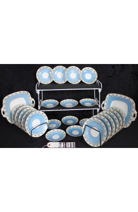 Royal Stafford English Bone China Pattern 4895 Antique Partial Tea Set