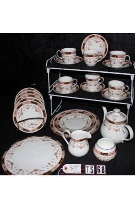 Elizabethan Fine Bone China Olde England Classic Pattern Vintage Tea Set