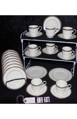 Noritake Fine Bone China Covina Pattern 9791 Tea Set