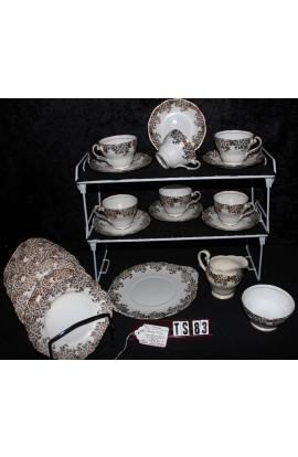 Royal Standard Fine Bone China Pattern 762 Vintage Tea Set