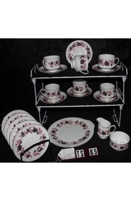 Paragon Fine Bone China  Michelle Pattern Vintage Tea Set