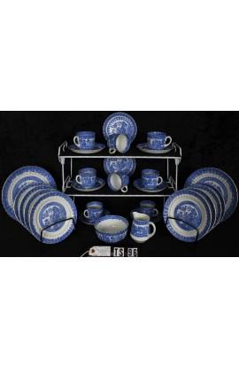 Royal Stafford Fine Bone China Blue Willow Pattern RSTBLW1 Antique Tea Set