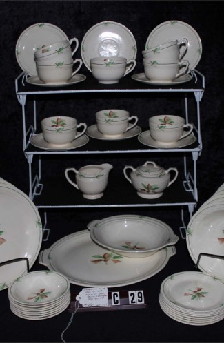 Steubenville USAO Pattern Bone China Dinnerware