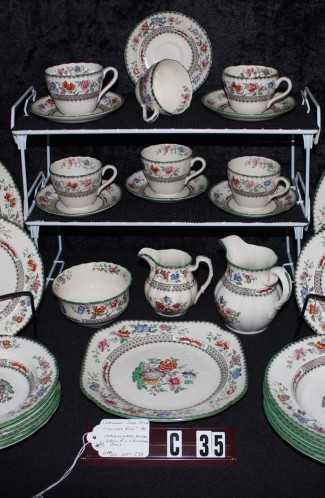 Copeland Spode Chinese Rose Pattern Imperal Ware China Dinnerware
