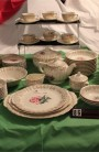 Limoges American Le Fleur Rouge Pattern China Dinnerware