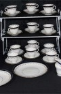 Aynsley AYN191 Pattern Fine Bone China Tea Set