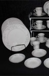 Fine Porcelain China of Japan Eloquence Pattern Dinnerware Plates