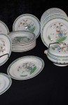 Copeland Spode Bermuda Pattern Ironstone China Dinnerware , Dinner Plates, Soup Bowls