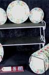 Royal Cauldon Victoria V7173 Pattern China , Dinner and Bread Plates