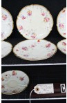 Aynsley 84E6 Pattern Fine Bone China , Set of Seven Saucers