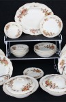Royal Doulton Earthenware China Wilton Pattern D6226 - 30 Pc Set