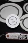Wedgewood Fine Bone China Athens Pattern 501300 Five Piece Place Setting MFG Back Stamp
