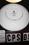 Waterford Fine Bone China Kells Pattern WFCKEL , 2 Pieces , Plate and Saucer , MFG Back Stamp