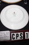 Waterford Fine Bone China Harcourt Gold Pattern WFCHAR , 2 Pieces , Salad and Dessert Plates , MFG Back Stamp