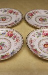 Royal Grafton China Malvern Pattern 6527N, 4 Pieces , 2 Saucers , 2 Dessert Plates
