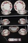 Grosvenor Fine China Jackson Gosling Hampton Pattern 5655 Tea Trio - Priced as 3 Piece Set of Cup , Saucer and Tea Plate
