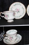 Elizabethan Fine Bone China by Taylor Kent Pattern 374 Vintage Tea Set Duo , Includes 1 Cup and 1 Saucer