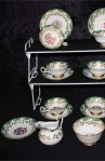 Royal Chelsea RCH51 Pattern Fine Bone China Vintage Tea Set , Creamer and Sugar Bowl