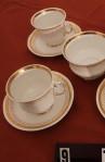 Elizabethan Clifton Pattern Fine Bone China Vintage Tea Set , 4 Cups , 4 Saucers