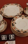 Wetley China Longton England Milan 9386 Pattern Imari Style Vintage Tea Set of 22 Pieces