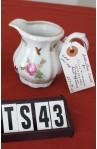 Bareuther Bavaria China Starlight BTH253 Pattern Bone China Vintage , 3 Piece Tea Set , Creamer